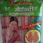 Package of henna