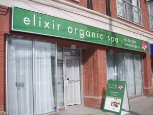 Elixir Organic Spa Toronto